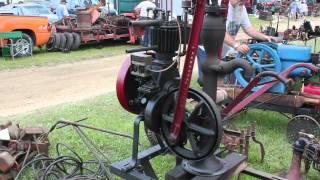 Old Engines at Ashtabula County Antique Engine Club 2011 Big Show