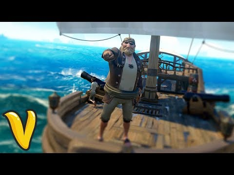 SS R-WORD ADVENTURE!! Sea of Thieves Funny Moments & Adventu