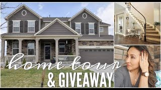 HOME TOUR 2018 || LIVING ROOM/KITCHEN/FORMAL DINING || JORD WATCH GIVEAWAY