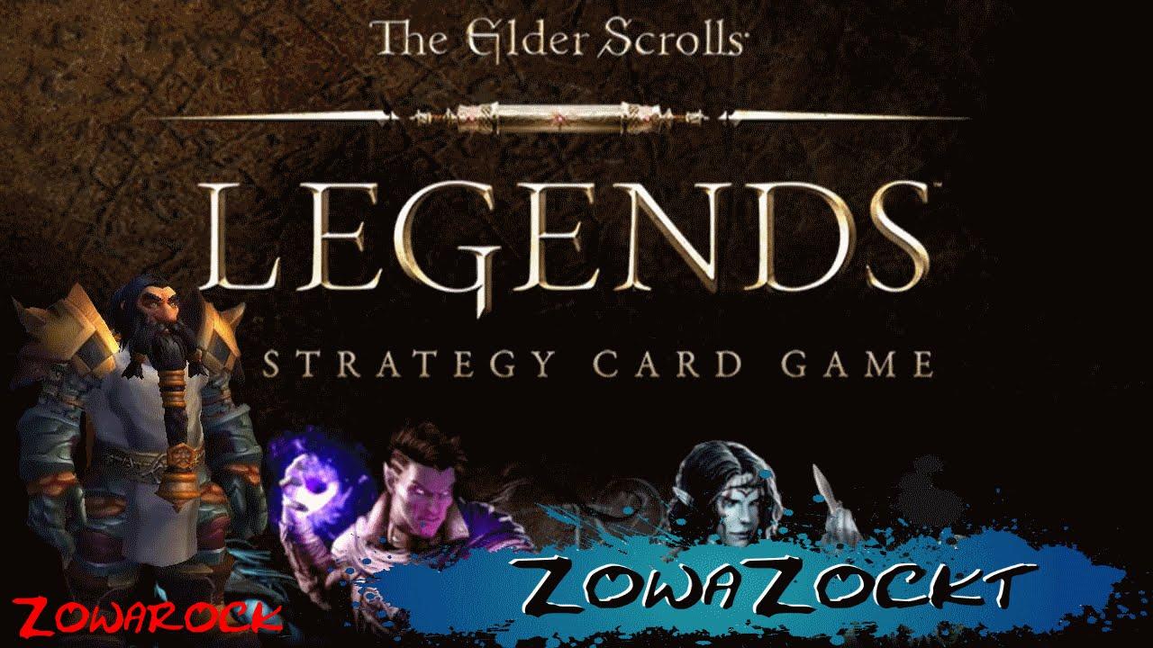 elder scrolls kartenspiel