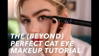 The (Beyond) Perfect Cat Eye Makeup Tutorial | The Sloane Series