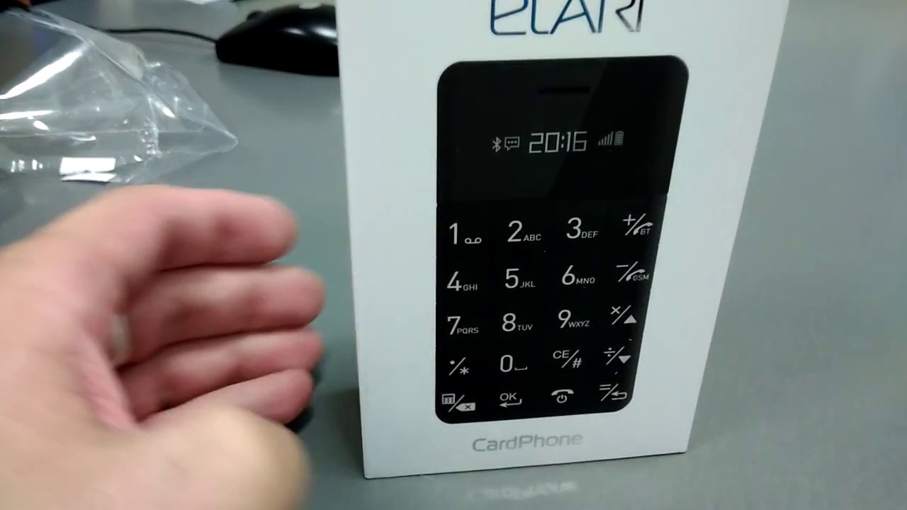 Review Elari CardPhone - YouTube