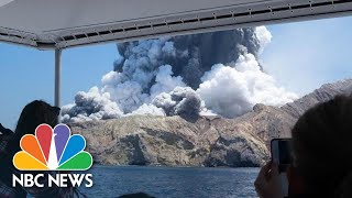 Deadly Volcanic Eruption Hits New Zealand Island As Tourists Visit | NBC News