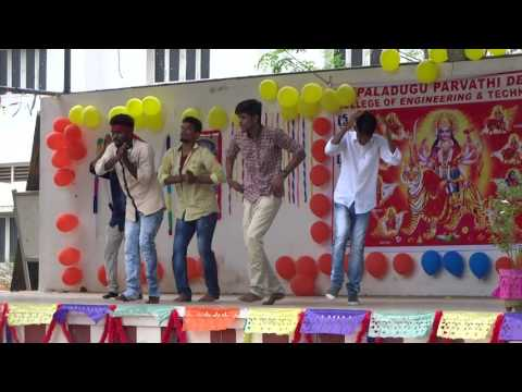 Paladugu parvathi devi college  students dance(A-jay,Cho2 and Kot! Inkoti) performance