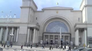 Днепропетровск, ж/д вокзал 17.04.2012 год - видео обзор