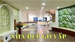 Bán nhà Gò Vấp( 142 )4.2m x 16m nhà đẹp chính chủ 4 lầu thiết kế sang đẹp Nguyễn Oanh giảm 400 triệu