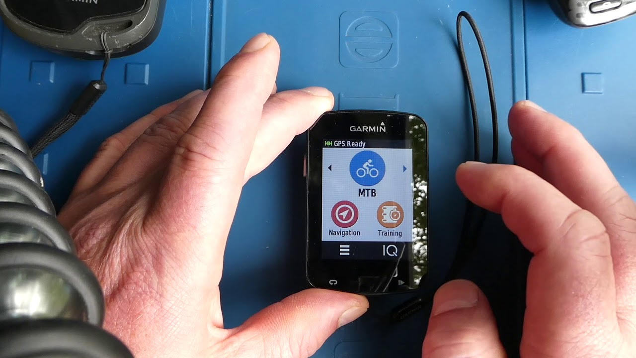 Garmin Edge 820 Automative Routing Navigation Problem / Screen Locks Up and  Goes Blank