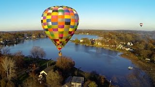 HOT AIR BALLOONS, LAKES, and DRONES!!
