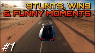 FORZA HORIZON 3 | EPIC STUNTS, WINS & FUNNY MOMENTS #1