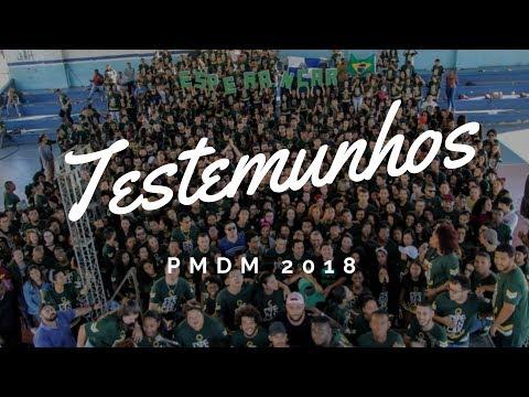 Depoimentos PMDM 2018