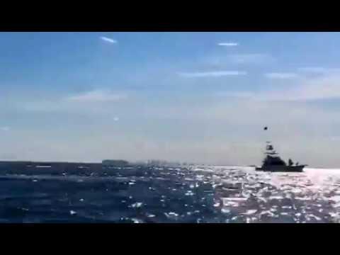 Apollo Beach Tampa Bay Florida Jet Ski Racing Sailing Boating Cruising HyperLapse - IMRAN™