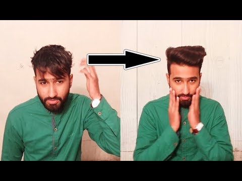 How To Make Hairstyle At Home For Boys Indian Men Hairstyle 2018