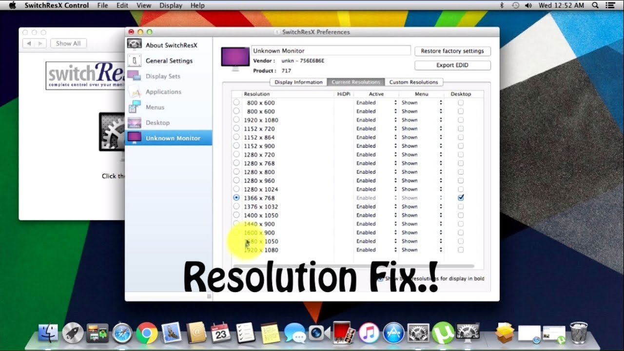 Fix Resolution on VMware Running MAC OS  ! - How To?