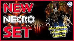 Diablo 3 Necromancer Test Build Masquerade of Burning Carnival Season 21 Patch 2.6.9 PTR