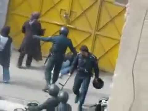 SEE THE REAL ISLAMIC REGIME, Attack on Woman and Girl, Nov 4 حمله به زن و دختر مردم