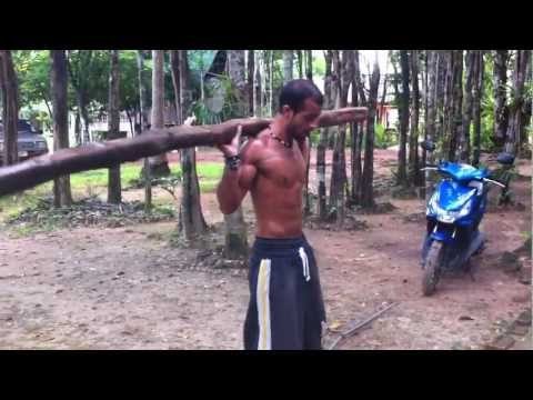 THAILAND......... TARZAN WORK OUT...!!!! Travel Video