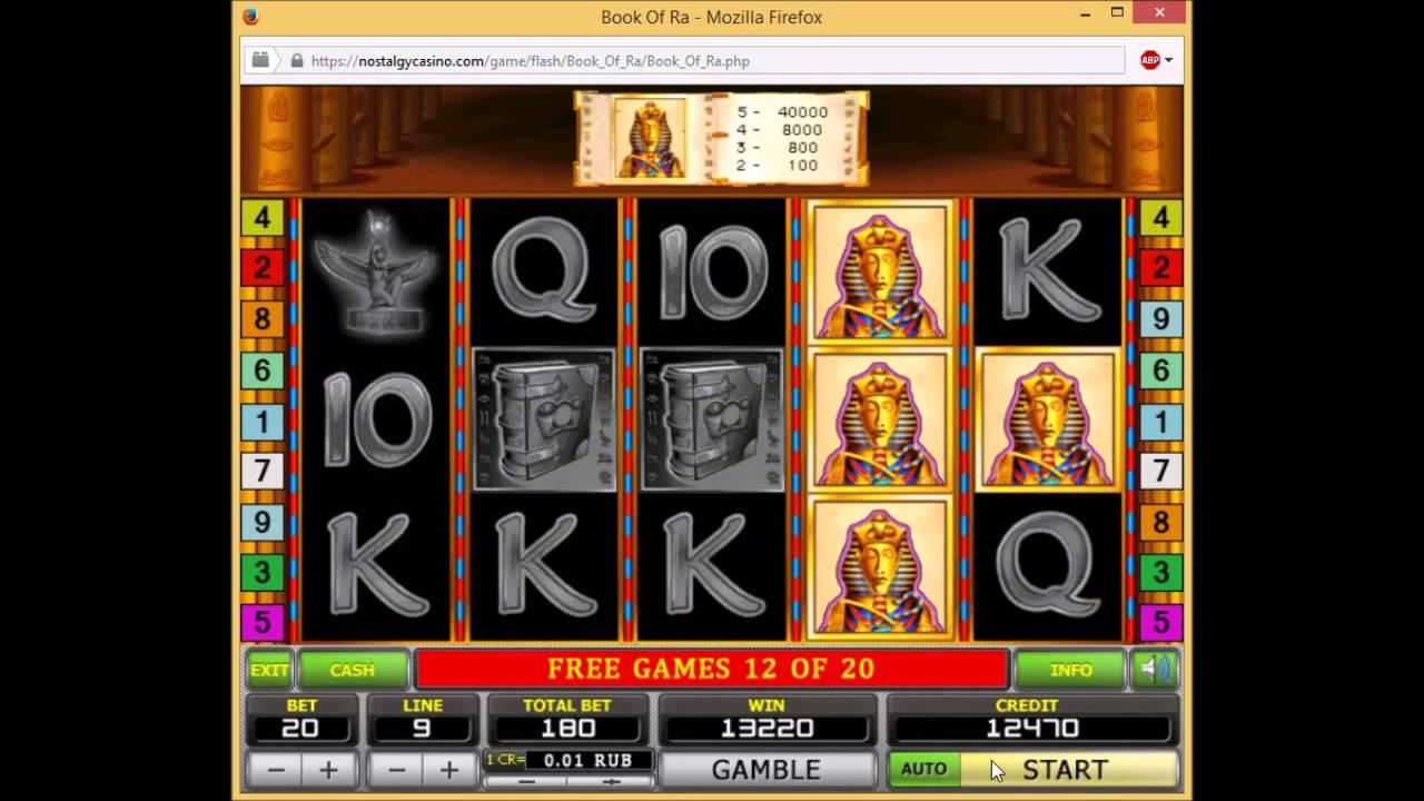 Book Of Ra Online Igri