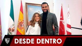 La vuelta de Dani Alves a Sevilla por el Trofeo Antonio Puerta