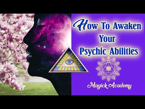 HOW TO AWAKEN YOUR PSYCHIC ABILITIES