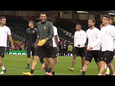 Juventus Train In Cardiff Ahead Of Champions League Final