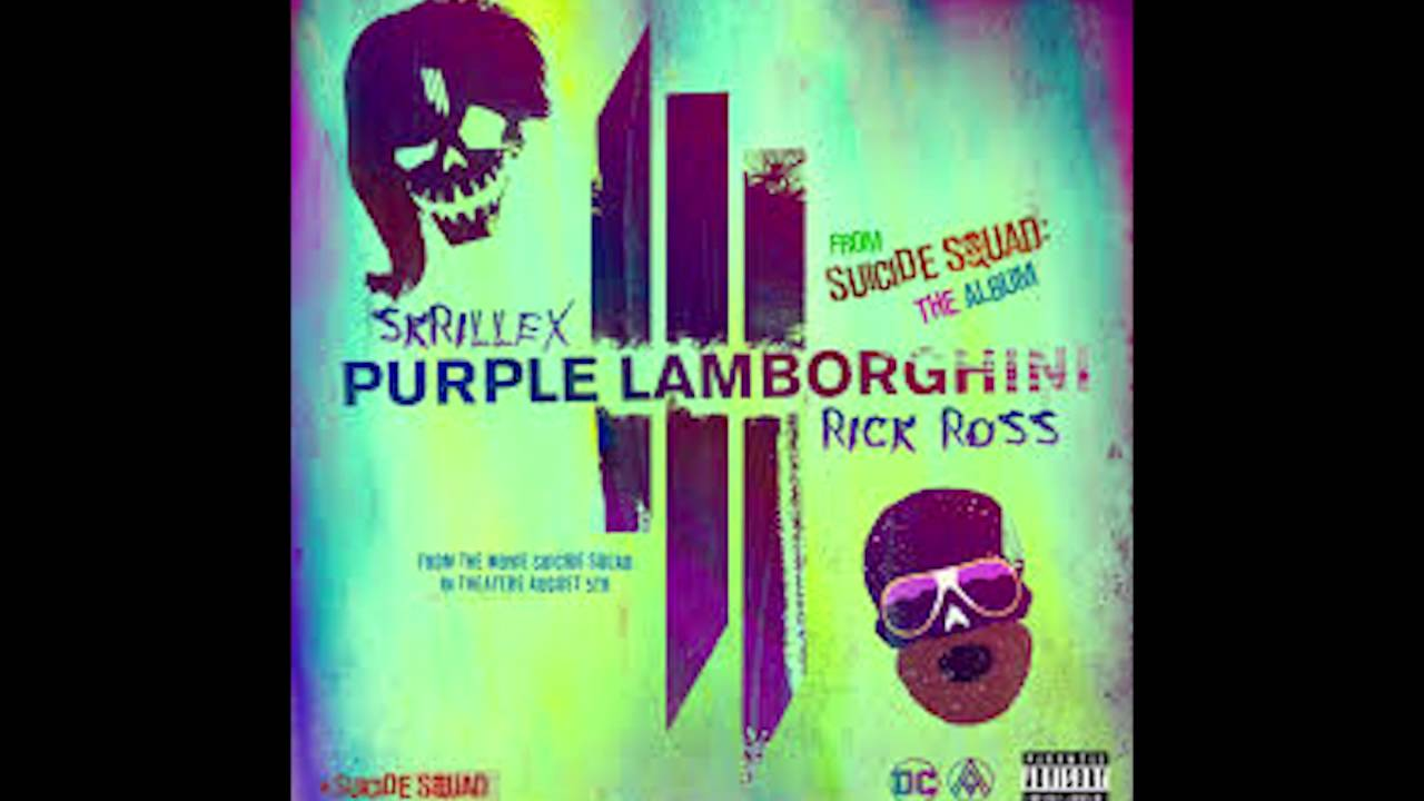 Skrillex Rick Ross Purple Lamborghini Clean Youtube