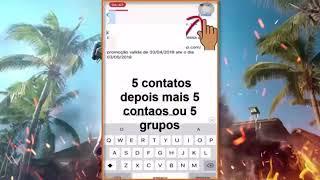 USEI UM GERADOR DE DIAMANTES NO FREE FIRE E FIQUEI RICO DEMAIS!!!!