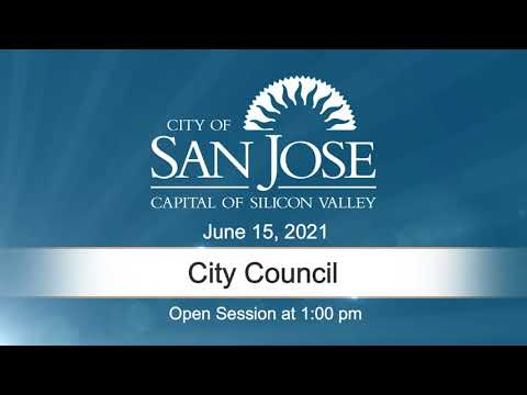 JUN 15, 2021 | City Council, Afternoon Session