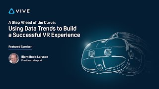 YouTube動画:Webinar:  Using Data Trends to Build a Successful VR Experience