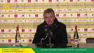 VIDEO: LIVE I Conférence de  presse d'après match FCN - TFC.