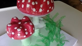 Repeat youtube video Recycled Water Bottle Crafts: Amanita Muscaria - Recycled Bottles Crafts Ideas