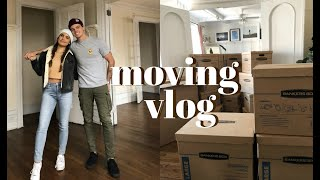 NYC MOVING VLOG | Our New Apartment!
