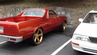 Repeat youtube video Candy orange elco on gold 24 inch irocs