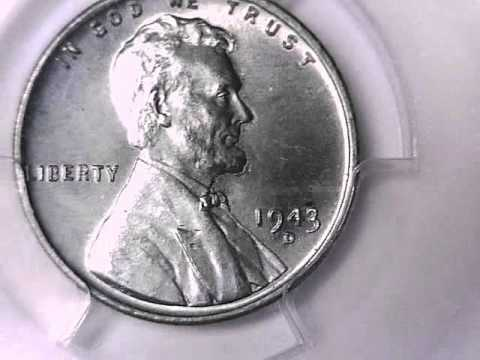 Repeat what is my 1943 d steel cent worth graded by pcgs by