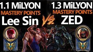 1.3 Milyon ZED vs 1.1 Milyon Lee, League of Legends Türkçe, LoL VS Video