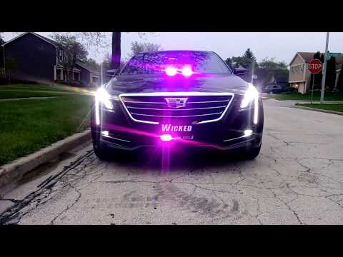 Strobe Lights For Cars - Funeral Procession Lead Car