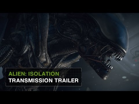 "Alien: Isolation Official Announcement Gameplay Trailer -- ""Transmission"" [US]"