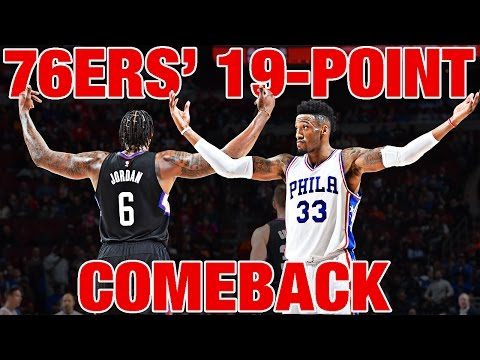 EVERY BUCKET From The 76ers' 19-Point Comeback Against The Clippers
