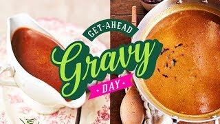 Meat & Vegan Gravy | Get Ahead Gravy Day | 14th December 2019