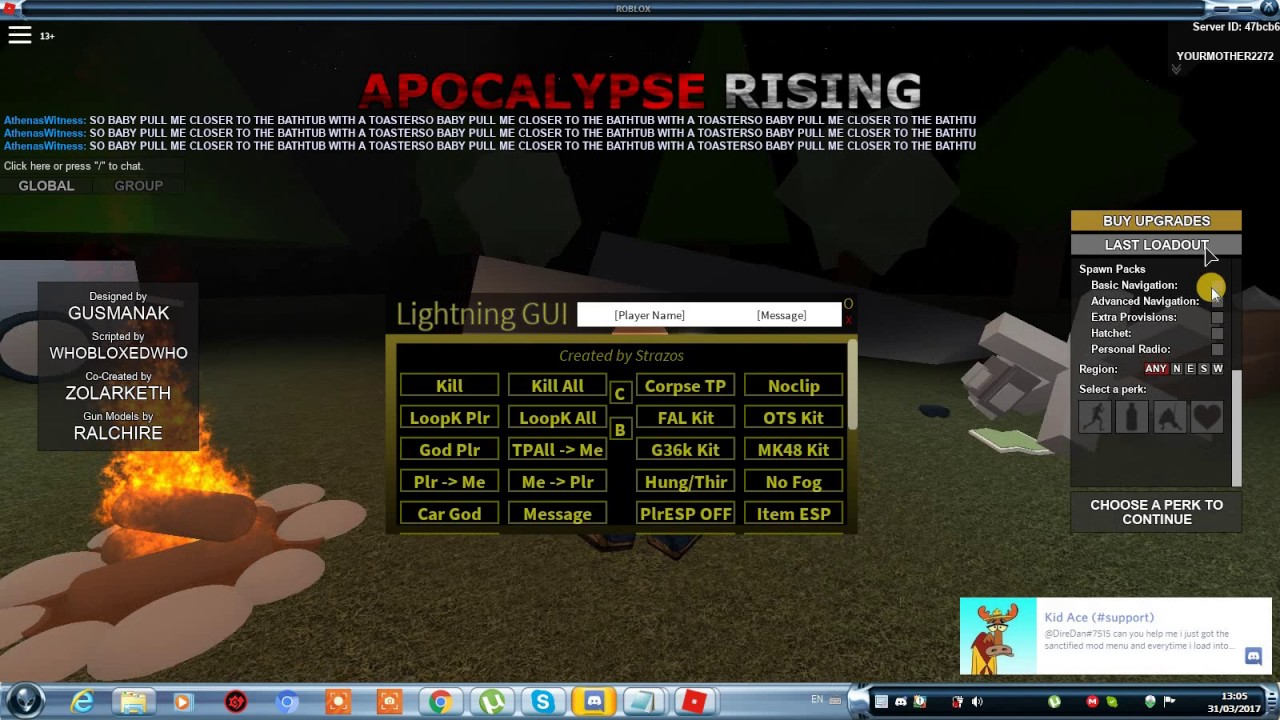 Roblox apocalypse rising how to hack {script executor ...