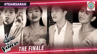 Coach Sarah and Top 3 perform Kung 'Di Rin Lang Ikaw | The Finale | The Voice Teens Philippines 2020