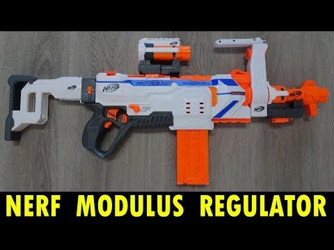NERF MODULUS REGULATOR / MIT 3 VERSCHIEDENEN FEUER-MODI !!!