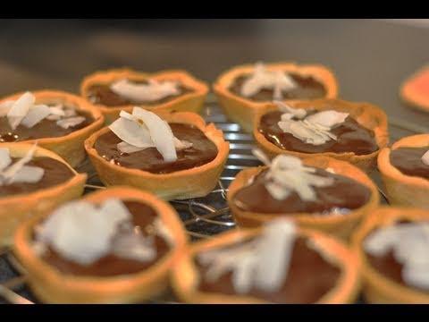 """recette-ludique-des-tartelettes-""""bounty""""-noix-de-coco-chocolat"""