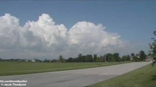 Beautiful Cumulonimbus/Swelling Cumulus Clouds! - Edwardsville, IL - Marine, IL - 7/4/11