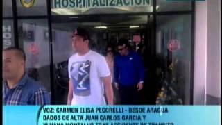 Juan Carlos García, Yuvanna Montalvo y Hendrick Bages están fuera de peligro
