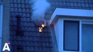 Video: Uitslaande brand in Amstelveen