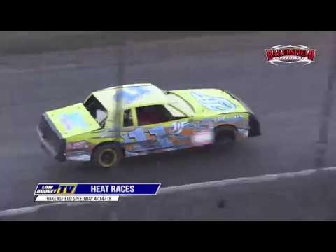 Heat Races: Bakersfield Speedway 4/14/18