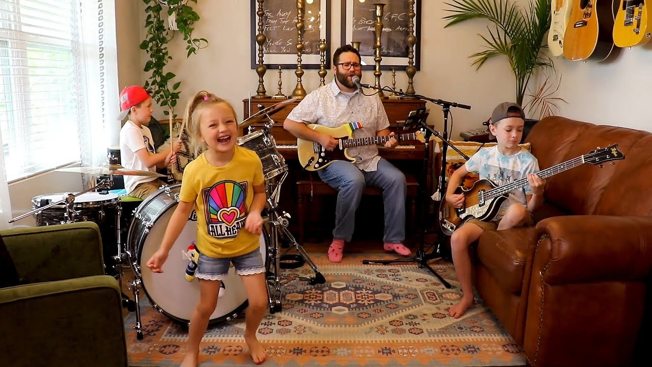 "Colt Clark and the Quarantine Kids play ""Jet Airliner"""
