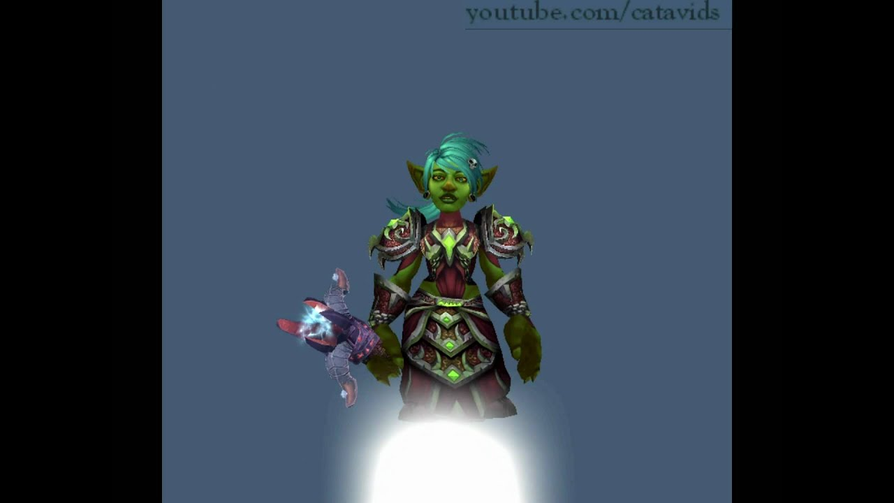 Wow Goblin Classes - Year of Clean Water