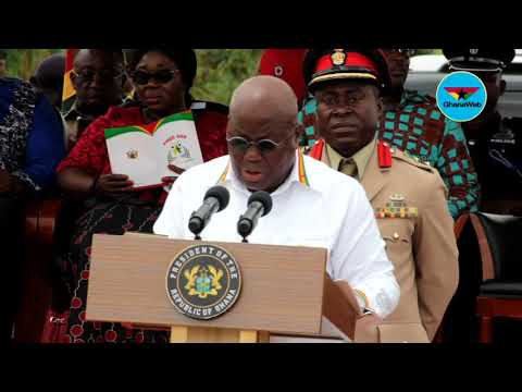 Akufo Addo's full speech at launch of Free SHS