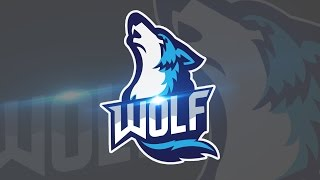 Photoshop Tutorial | Wolf Logo Design